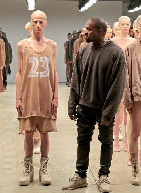 Kanye West Calabasas High School jersey