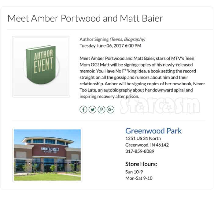 Matt Baier book signing at Barnes and Noble in Greenwood Indiana