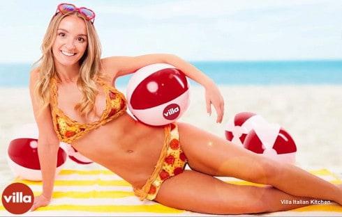 Real Pizza bikini