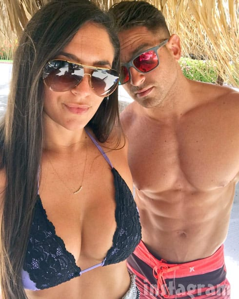 Sammi Sweetheart Giancola bikini photo with boyfriend Christian Biscardi