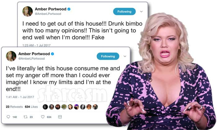 Amber Portwood Marriage Boot Camp tweets