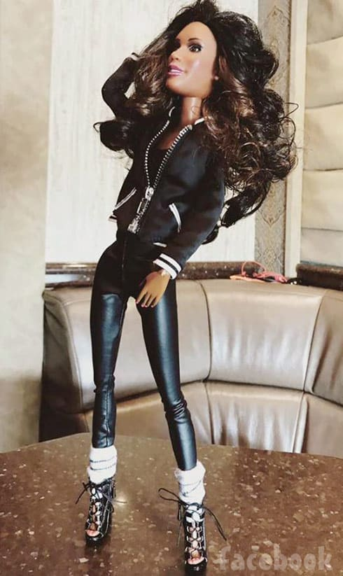 Bring It Coach D Dianna Williams doll photo