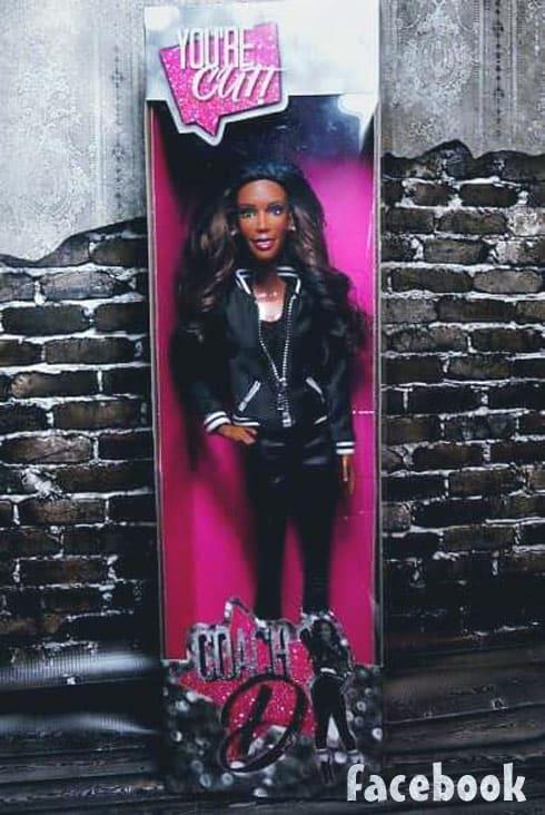 Bring It Miss D Dianna Williams doll