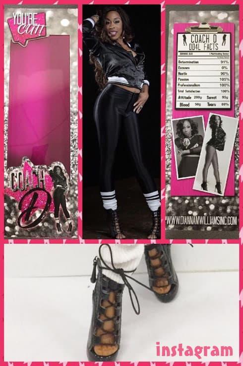 Bring It Miss D Coach Dianna Williams doll