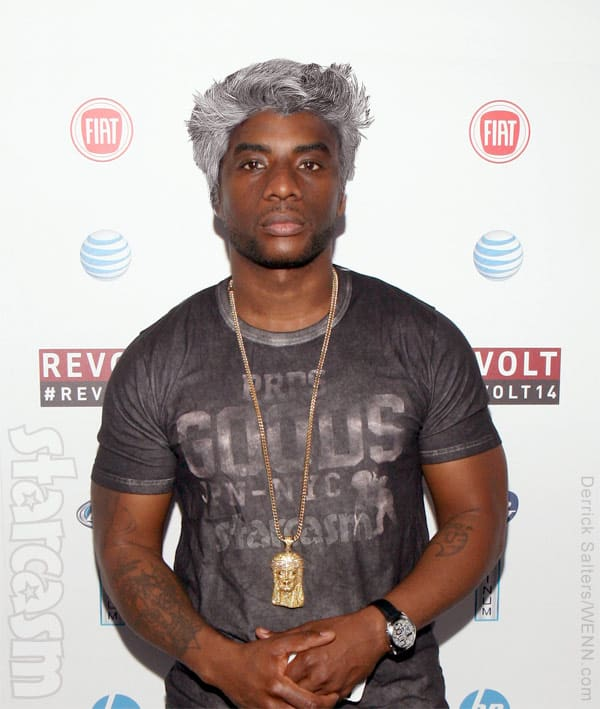 Charlamagne Tha God with Max Joseph hair