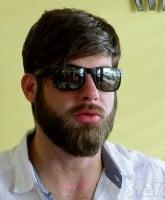 David Eason sunglasses inside