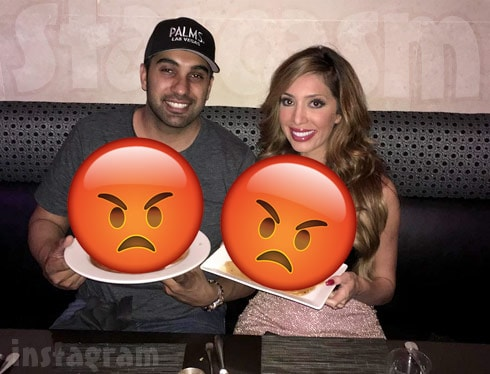Farrah Abraham and Simon Saran fighting