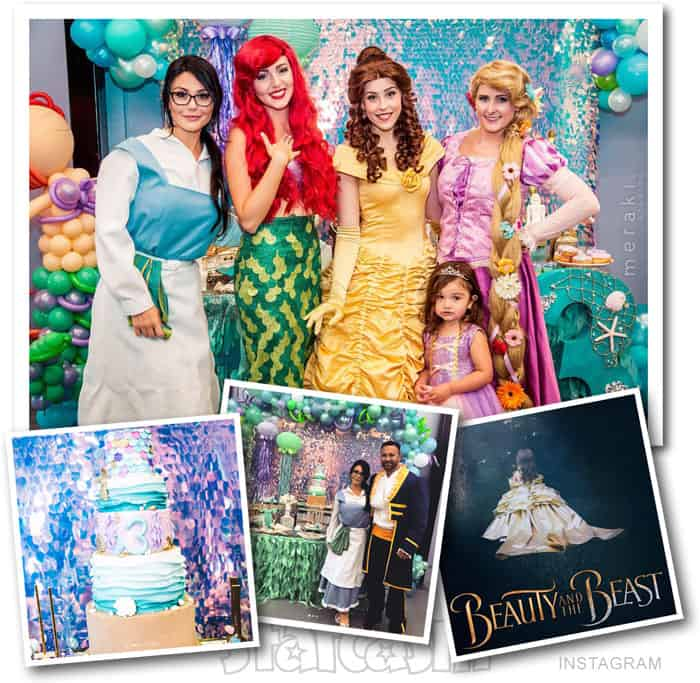 JWoww's daughter Meilani 3rd birthday party