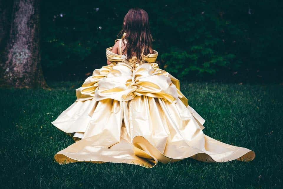 JWoww's daughter Meilani Beauty and the Beast dress
