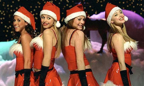 Mean Girls Christmas dance Jingle Bell Rock