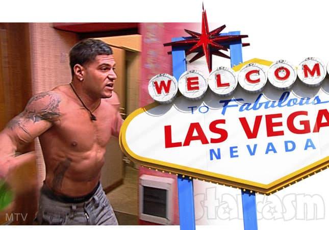 Ronnie Magro fight Las Vegas