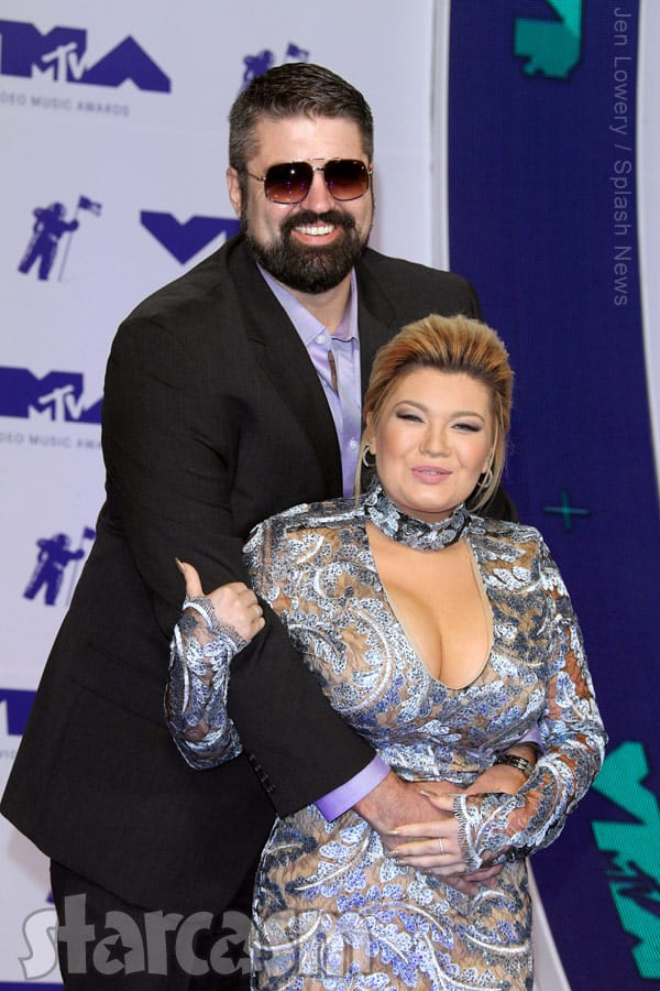 Amber Portwood_boyfriend and boyfriend Andrew Glennon together at the VMAs