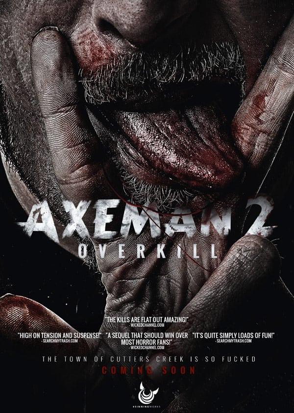 Axeman 2 Overkill movie poster new starring Farrah Abraham