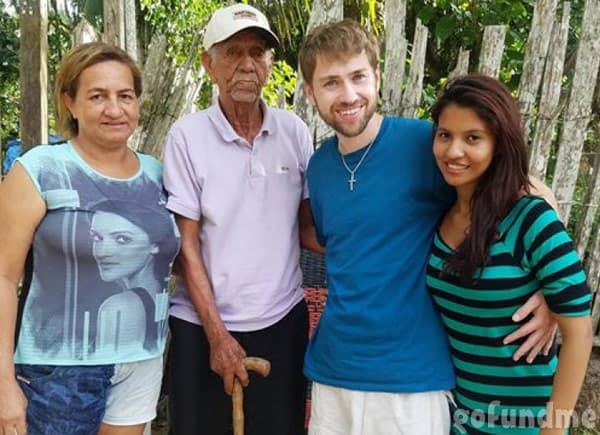 Before the 90 Days Paul and Karine together in Brazil