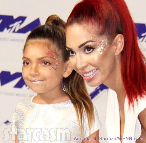 Farrah Abraham Sophia makeup VMAs