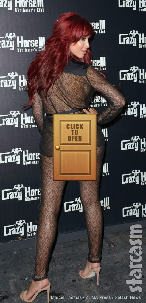 Farrah Abraham butt - click for uncensored photo
