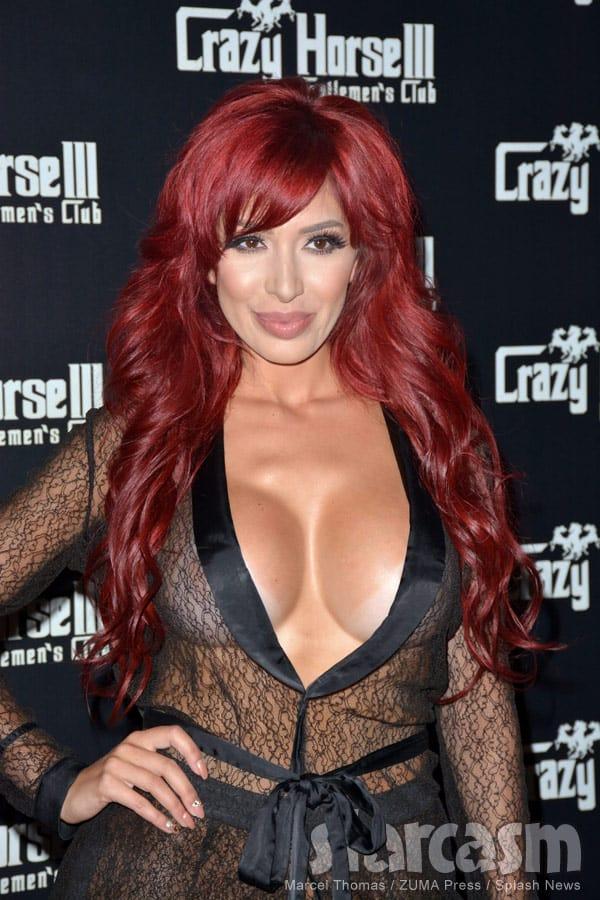 Farrah Abraham red hair