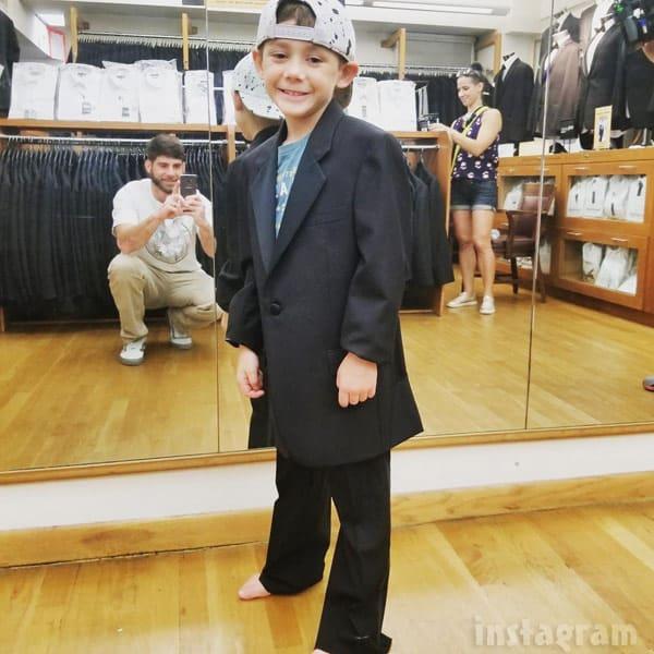 Jace Evans wedding suit