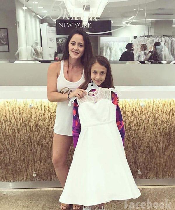 Jenelle Evans Maryssa flower girl dress
