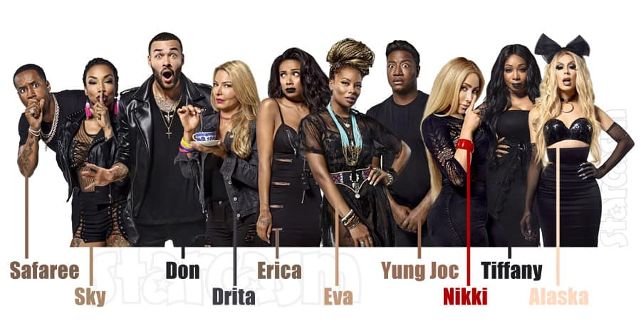 VH1 Scared Famous cast names