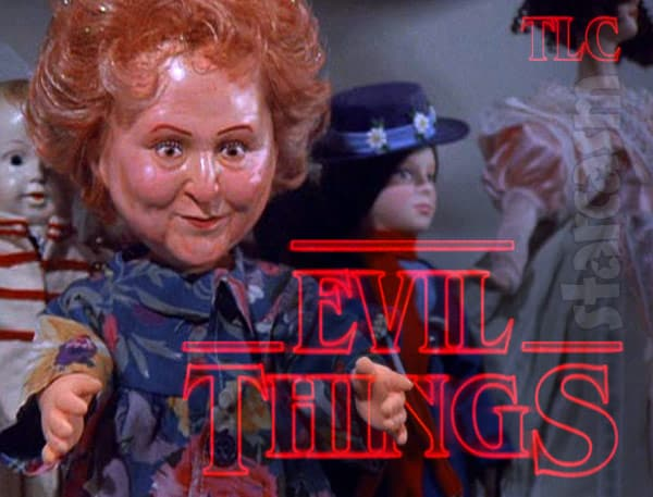 Seinfeld George's mother doll new TLC show Evil Things