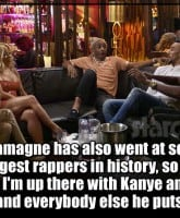 Chanel West Coast LHHH Kanye and Drake quote