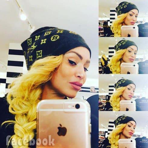 Darcey Silva blonde