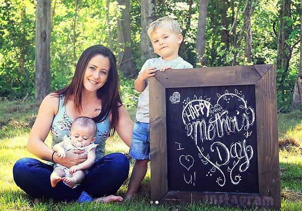 Jenelle Evans Kaiser Ensley Mothers Day