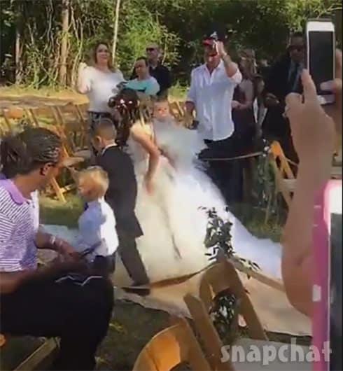 Jenelle Evans wedding Maryssa Kaiser Jace Ensley