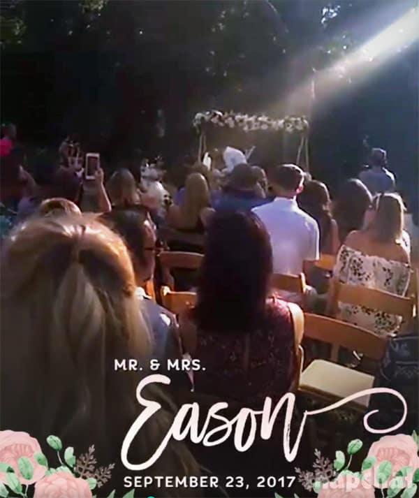 Jenelle Evans wedding kiss
