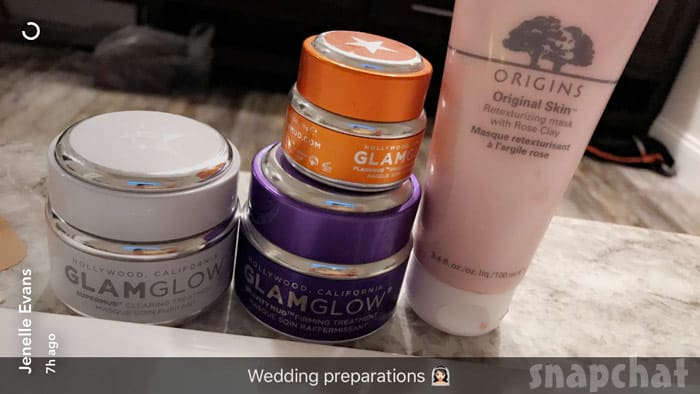 Jenelle Evans wedding makeup