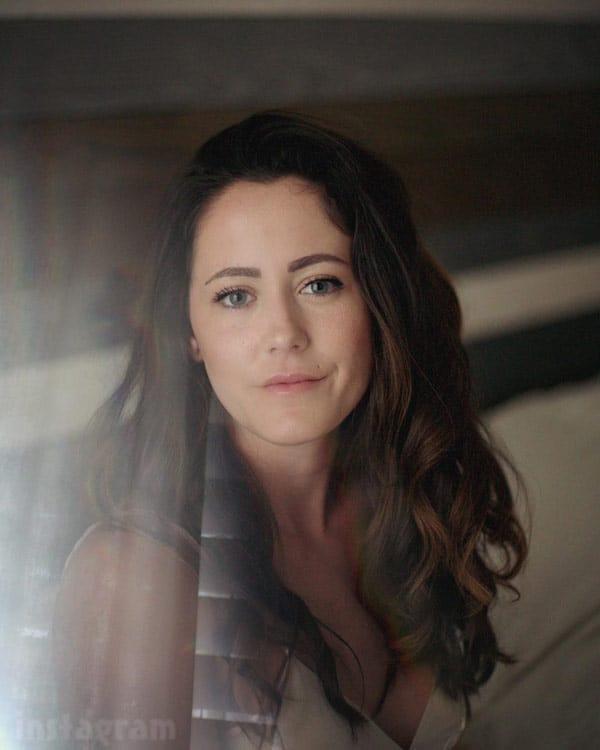 Jenelle Evans wedding picture