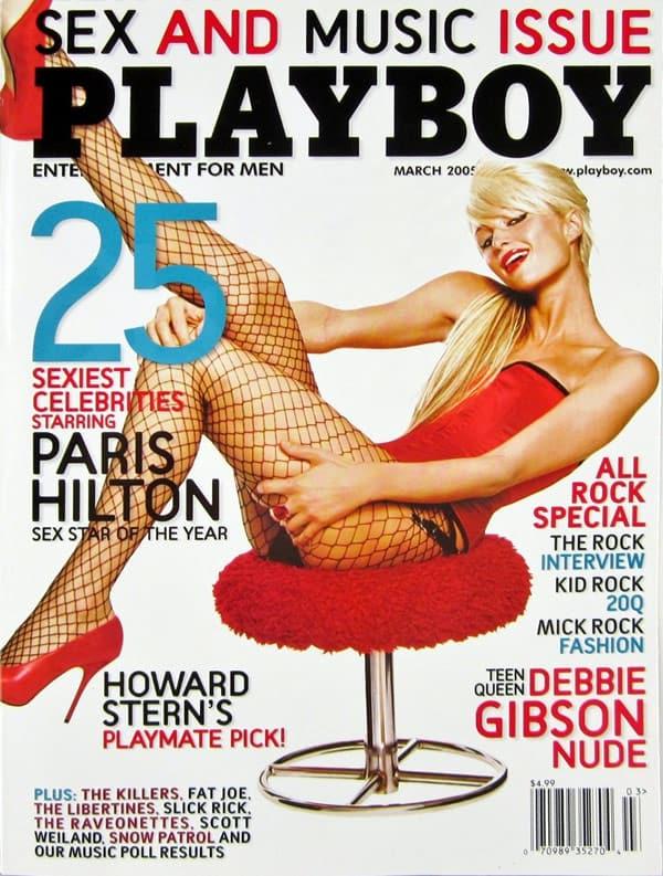 Paris Hilton Playboy cover