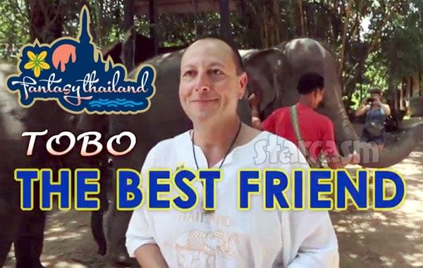 90 Day Fiance David Toborowsky on the Fantasy Thailand reality show as TOBO