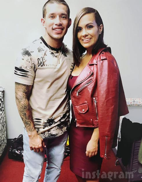 Briana DeJesus and Javi Marroquin together