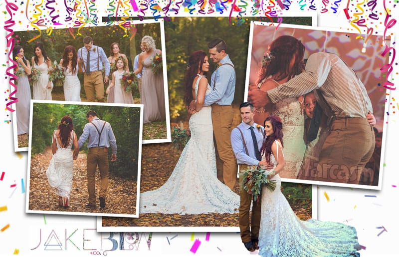 Chelsea DeBoer wedding photos