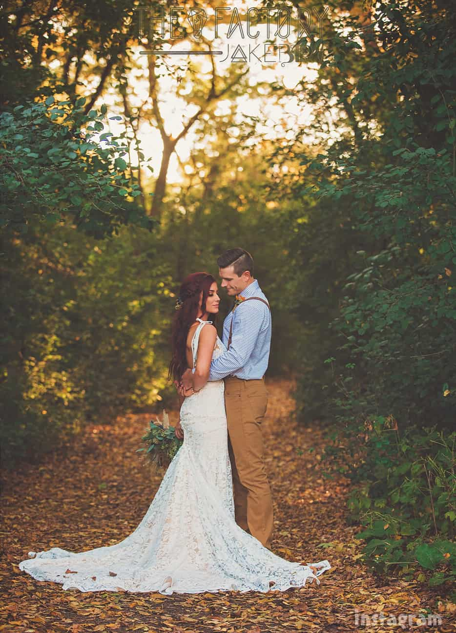 Teen Mom 2 Chelsea Houska DeBoer wedding photo with Cole DeBoer