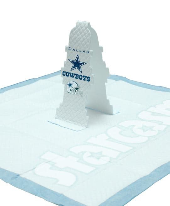 Dallas Cowboys Pop-Up Pee Pad