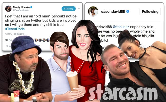David Eason Randy Houska Nathan Griffith Ashley Lanhardt Jenelle Evans Twitter feud
