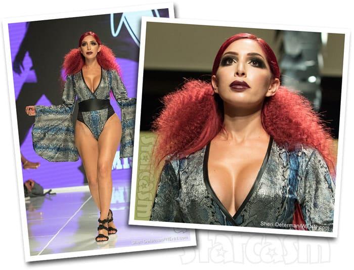 Farrah Abraham Mister Triple x fashion show