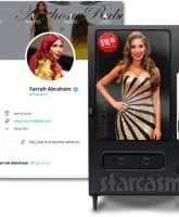 Farrah Abraham vending machine