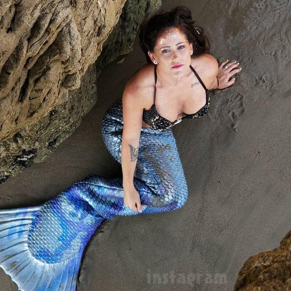 Jenelle Eason mermaid
