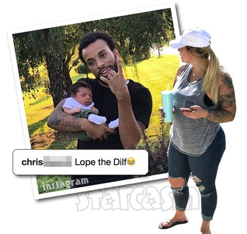 Kail Lowry Chris Lopez Lux's dad