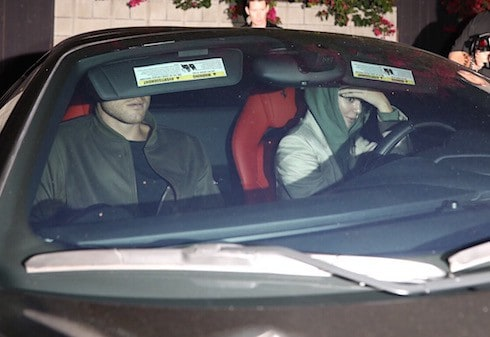 Kendall Jenner and Blake Griffin are seen leaving Craig's in West Hollywood