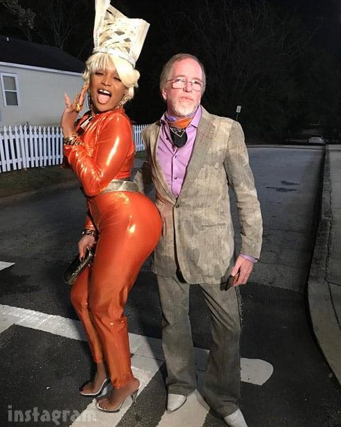Marlo Hampton Nisi BAPS costume