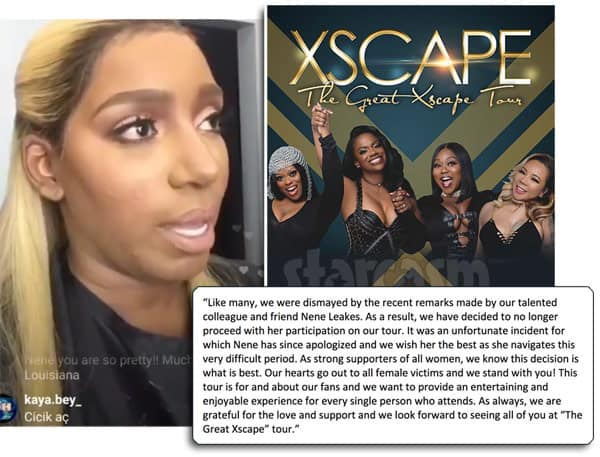 NeNe Leakes fired from The Great Xscape tour