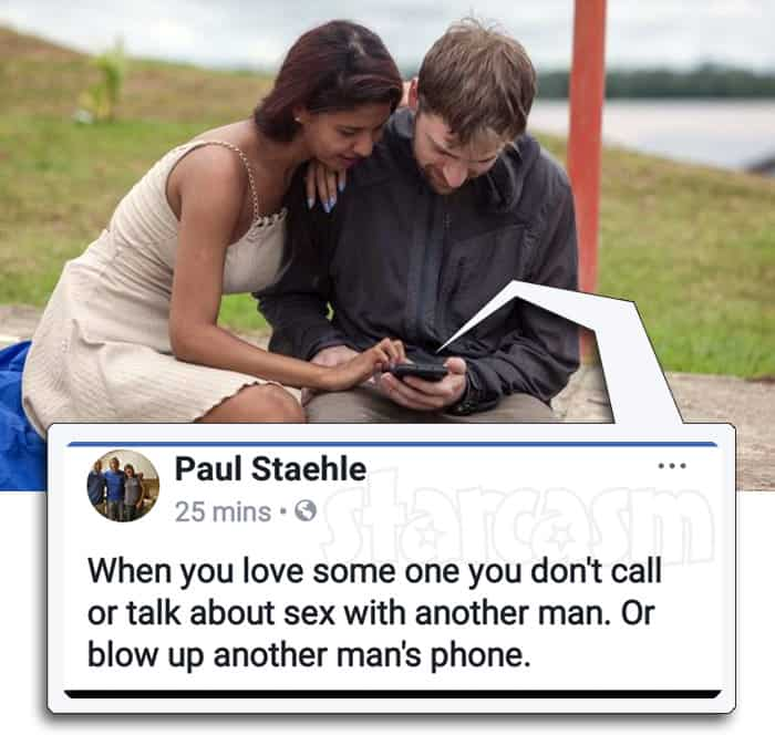 Before the 90 Days Paul Staehle Karine Martins break up Facebook