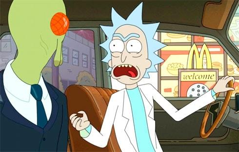 Rick and Morty Szechuan sauce McDonald's
