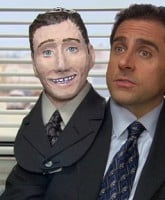 The Office Halloween episode Mike Scott