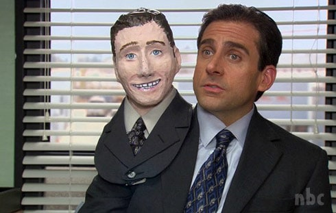The Office Halloween episode Mike Scott